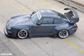 rwb porsche grey vad x rwb number one stancenation form u003e function