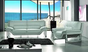 Top Grain Leather Living Room Set New York Vig White Top Grain Italian Leather Living Room Set