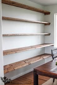 easy diy dining room shelves design ideas image howiezine