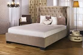 Upholstered Bed Frame Limelight Capella 4ft6 Fabric Upholstered Bed Frame By