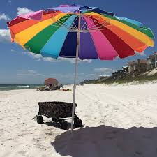 Large Beach Umbrellas For Sale Frankford Umbrella Emerald Coast Collection 7 5 Ft Commercial