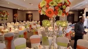 orange u0026 green wedding theme wedding flair