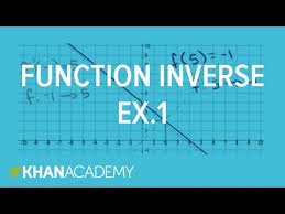 finding inverse functions linear video khan academy