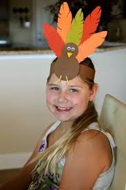 turkey hat thanksgiving headband craft for turkey hat kid