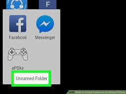 how to make folders on android how to create folders on an android phone 8 steps with pictures