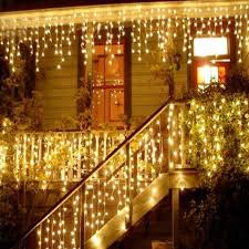 Outdoor Garland Lights 1x Lights Outdoor Decoration 5m Droop 0 4 0 6m Led