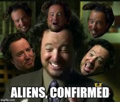 Aliens Meme Original - faces of giorgio imgflip