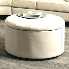 square storage ottoman with tray round ottoman tray round storage ottoman with tray black round