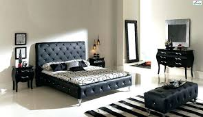 modern leather bedbuy modern leather queen size storage bed frame
