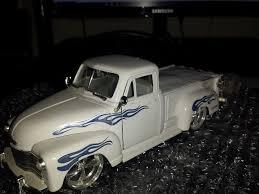 1951 chevrolet pickup white jada 1 24 scale metal diecast dub city