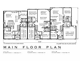 2 bedroom townhouse house plan th130 38 40 1200 sq feet