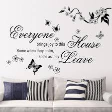 online get cheap wall writing stickers aliexpress com alibaba group cartoon hot butterfly vine writing room wall sticker fashion home decorative poster tv background wall decal