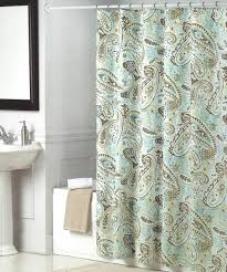 Green And Gray Curtains Ideas Green Brown Paisley Shower Curtain Shower Curtains Ideas