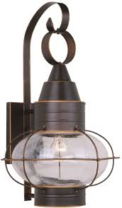 Nautical Outdoor Sconce Vaxcel Ow21831bbz Chatham Nautical Burnished Bronze Finish 22 75