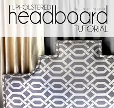 Cushioned Headboards For Beds by Bedroom Charming Upholstered Headboards In Gray White And