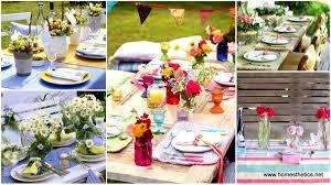 12 Mesmerizing Beautiful and Fresh Summer Table Decoration Ideas