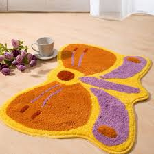Purple Flower Rug Compare Prices On Butterfly Kitchen Mat Online Shopping Buy Low