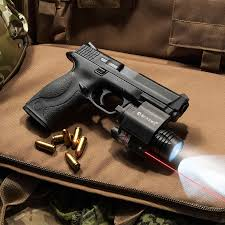 laser light combo for glock 22 red laser with 200 lumen flashlight