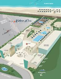 Miami Beach Map A Night At The Nobu Eden Roc Miami Beach Magellan Luxury Hotels