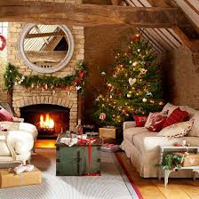 country christmas decorations 33 ideal christmas country living area decorating suggestions
