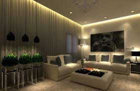 perfect living room lighting design with home decoration for