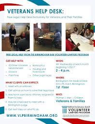 Va Help Desk Veterans Birmingham Volunteer Lawyer Program