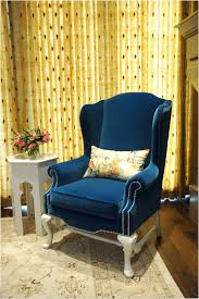 Blue Wingback Chair Design Ideas Blue Wingback Chair Tags Blue Velvet Wingback Chair Black