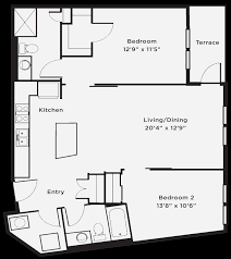 studio 1 and 2 bedroom floor plans the whitfield apartments