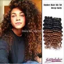 Original Hair Extensions by 6a Beautyplushair Brazilian Virgin Hair Deep Wave Ombre Hair