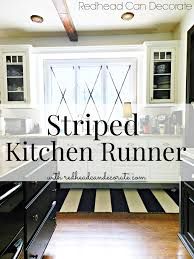 Black And White Striped Runner Rug Striped Kitchen Rugs Large Size Of Area Rugsawesome Non Slip