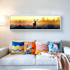 long paintings for living room home design