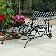 furniture black wrought iron outdoor furniture with wrought iron cast iron chaise lounge chairs wrought iron chaise lounge chairs