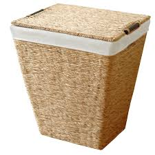Laundry Divider Hamper by Furniture Wicker Laundry Hamper Wooden Laundry Sorter Laundry