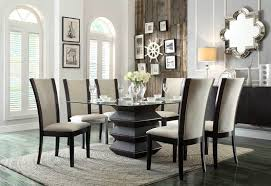 homelegance 5021 54 havre formal dining room set in beige