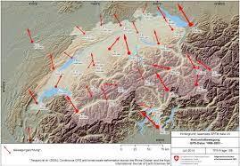 Alps On A Map Abklärung Tektonischer Und Neotektonischer Prozesse Ensi