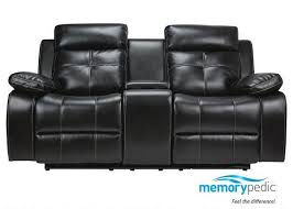 ls that hang over couch dual recl pwr consl ls nirvana black loveseats living room
