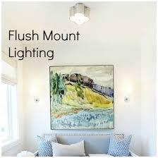 flush mount bathroom light design information about home