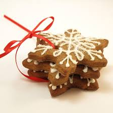 cocoa snowman and gingerbread snowflake gift snowflake