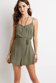 forever 21 rompers and jumpsuits embroidered cami romper forever 21 2000154865 rue21