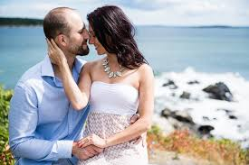 photographers in maine sneak peek leif s portland light engagement