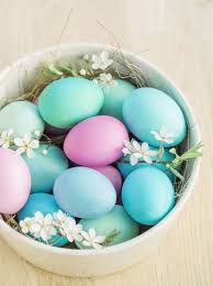 pastel easter eggs how to make an easter tree 8 stylish decoration ideas