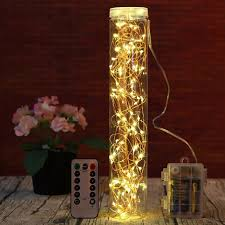 led fairy lights with timer 10m led fairy lights battery operated with timer remote dimmable