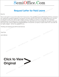 application letter for paid leave png