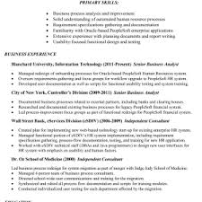 hr business consultant resume cover letter resume sample for business analyst sample resume for