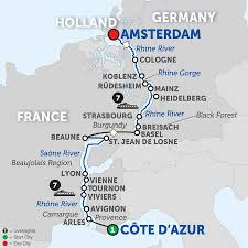 Where Is Amsterdam On A Map Amsterdam Cruises Avalon Waterways