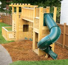 Backyard Play Structure by When It Came Time To Transform Our Backyard From Open Ground To