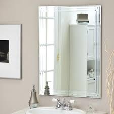 Bathroom Mirrors Frameless Bathroom Wall Mirror Frameless Bathroom Mirrors Ideas