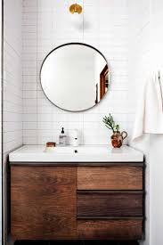 White Bathroom Mirror by 20 Ways To Round Bathroom Mirrors