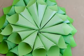 attractive how to make paper cone christmas trees part 7 view