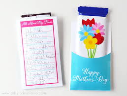 free printable mother u0027s day candy bar wrapper artsy fartsy mama